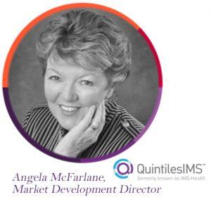 Angela McFarlane, IMS, Quintiles, QuintilesIMS, The PMI