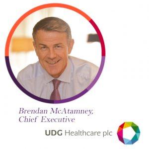 Brendan McAtamney, UDG, UDG Healthcare, Ashfield, The PMI