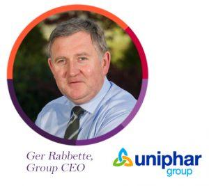 Ger Rabbette, Uniphar, The PMI