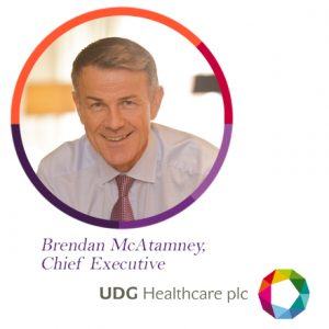 Brendan McAtamney, UDG, UDG Healthcare, Ashfield, The PMI
