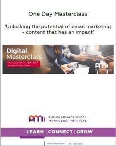 Masterclass, The PMI